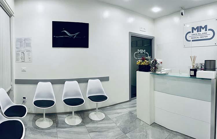 Sala di attesa | Circo Massimo Medical Center